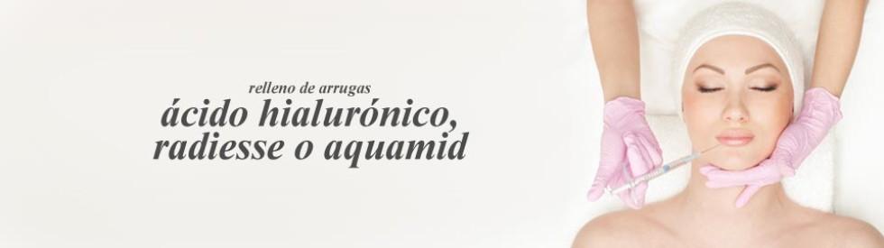 Rellenos faciales ac. hialurónico valencia Dr. Puig
