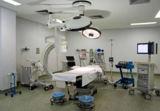 Quirófano del Hospital 9 de Octubre en Valencia