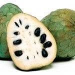 fruta de invierno: chirimoya