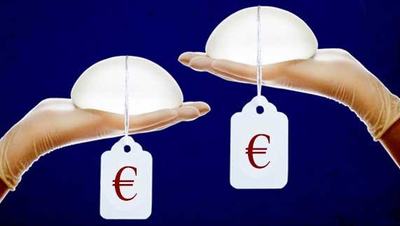 ¿Cual es el precio de un aumento de pecho en Valencia??